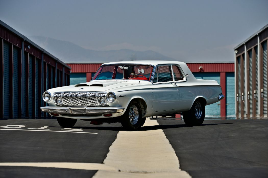 1963 Dodge 330 Lightweight Muscle Old Classic Superstock Super Stock ...
