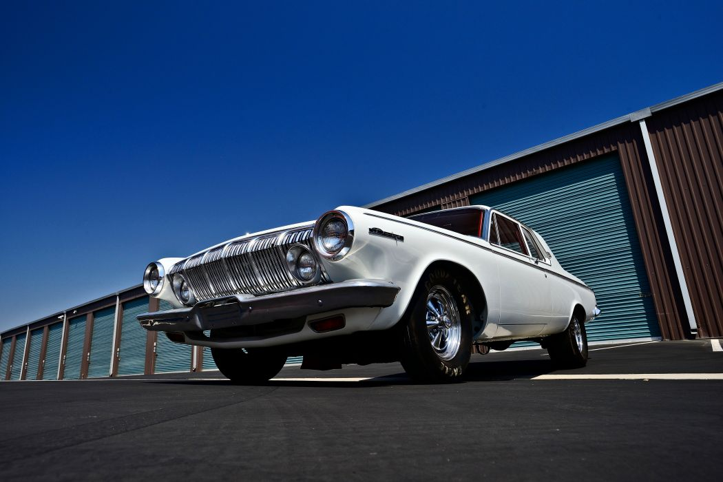 1963 Dodge 330 Lightweight Muscle Old Classic Superstock Super Stock Drag Dragster USA -11 wallpaper