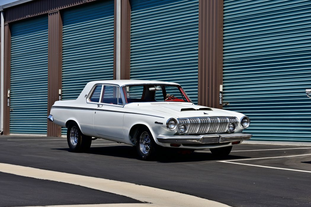 1963 Dodge 330 Lightweight Muscle Old Classic Superstock Super Stock Drag Dragster USA -12 wallpaper