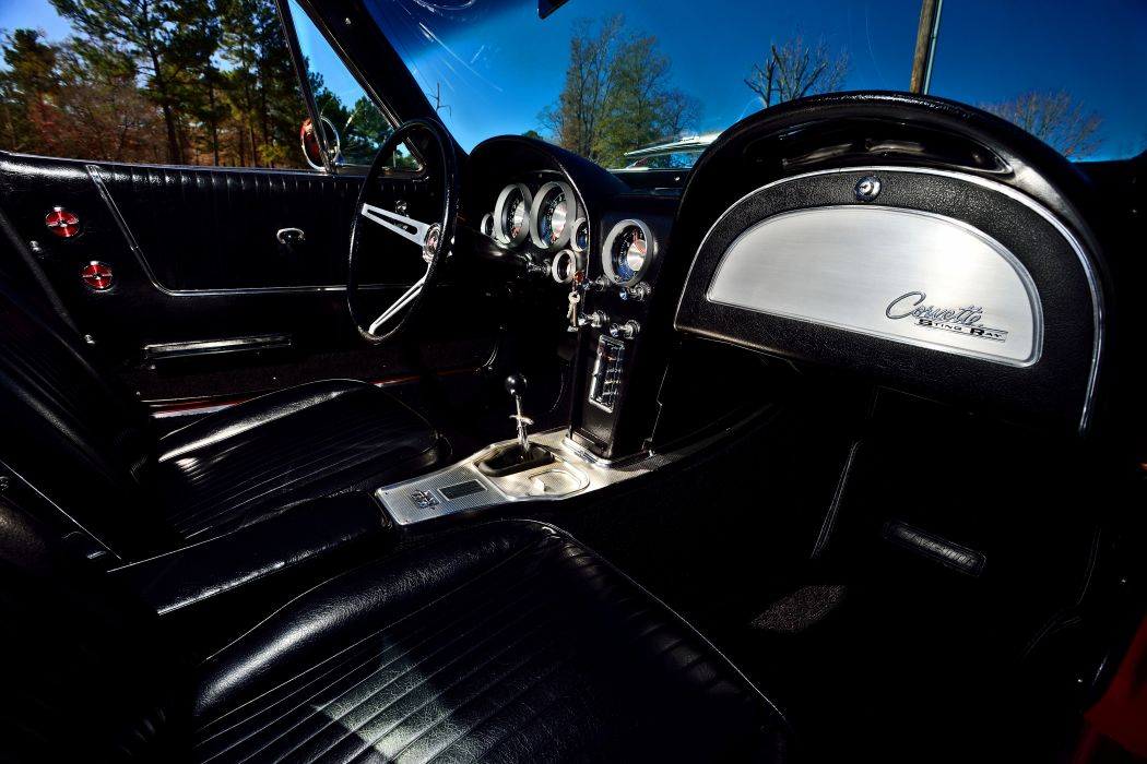 1963 Chevrolet Corvette Z-06 Fuel Injection Muscle Classic Old Original USA -05 wallpaper