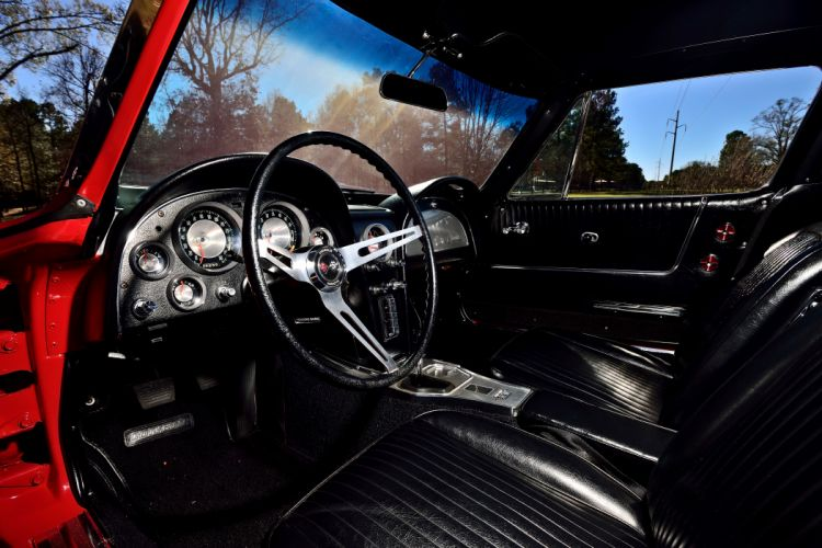 1963 Chevrolet Corvette Z-06 Fuel Injection Muscle Classic Old Original USA -04 wallpaper