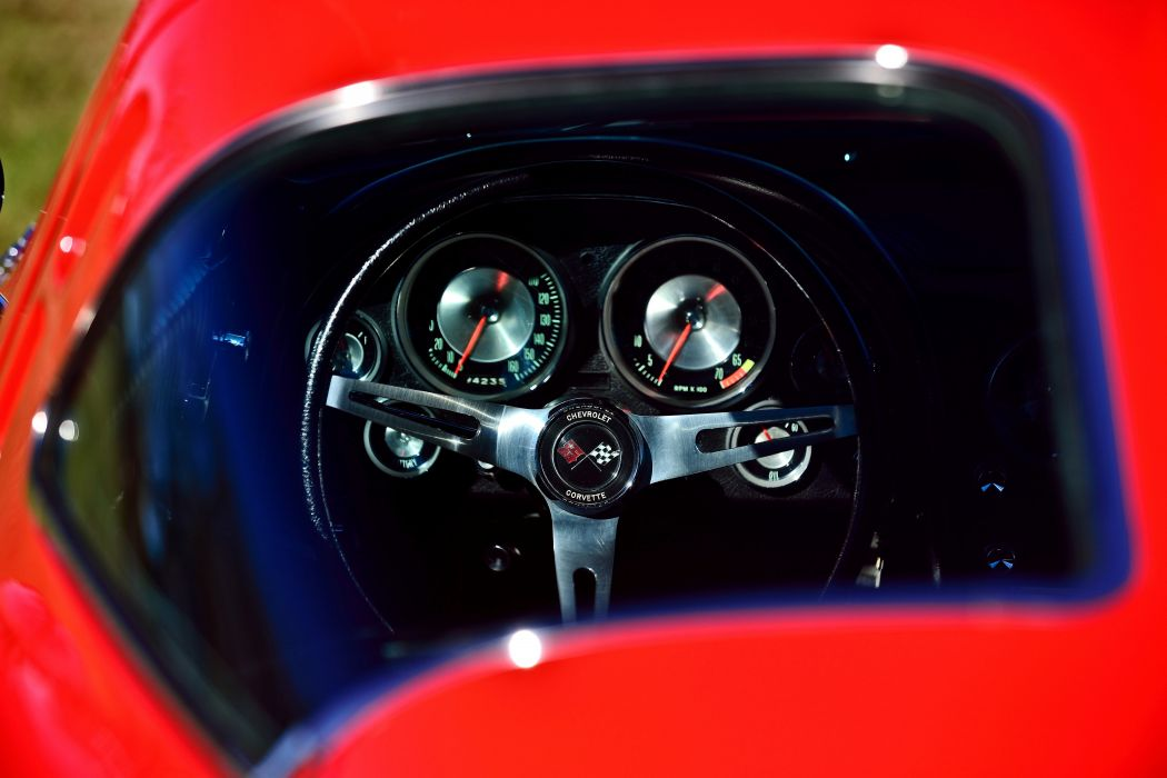 1963 Chevrolet Corvette Z-06 Fuel Injection Muscle Classic Old Original USA -08 wallpaper