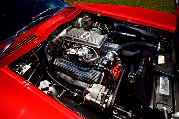 1963 Chevrolet Corvette Z-06 Fuel Injection Muscle Classic Old Original USA -07 wallpaper