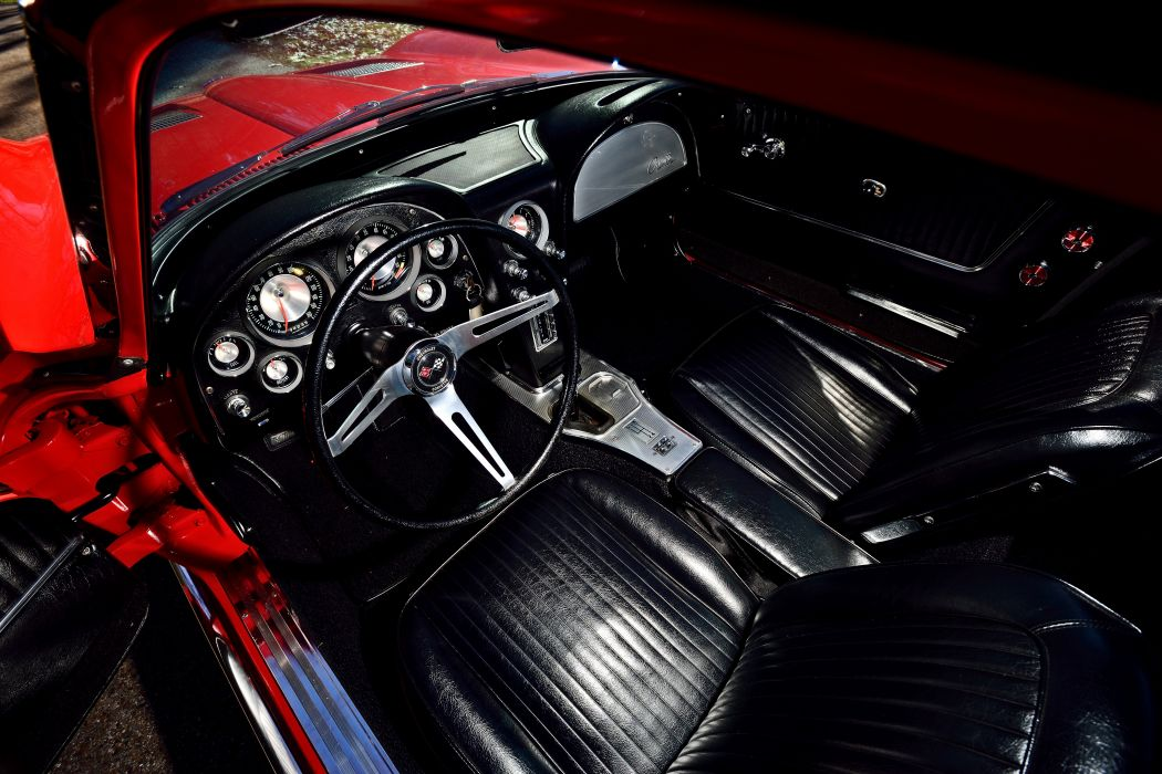 1963 Chevrolet Corvette Z-06 Fuel Injection Muscle Classic Old Original USA -16 wallpaper