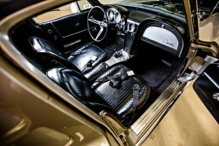 1963 Chevrolet Stingray Corvette Z06 Tanker Muscle Classic Original -05 wallpaper