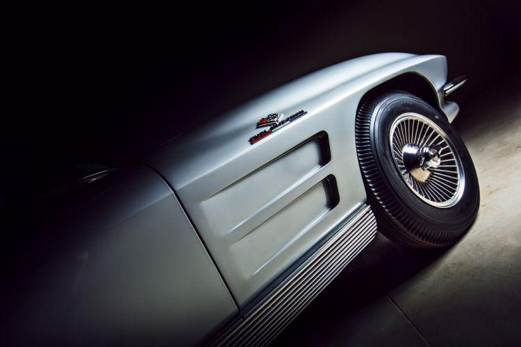 1963 Chevrolet Stingray Corvette Z06 Tanker Muscle Classic Original -10 wallpaper
