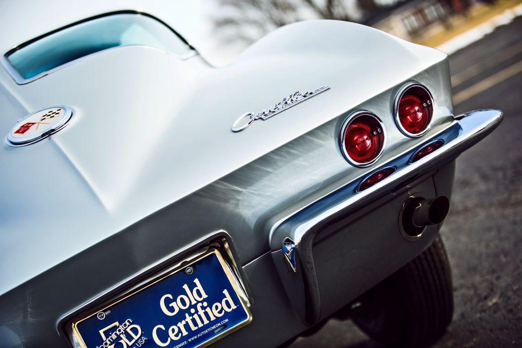 1963 Chevrolet Stingray Corvette Z06 Tanker Muscle Classic Original -11 wallpaper