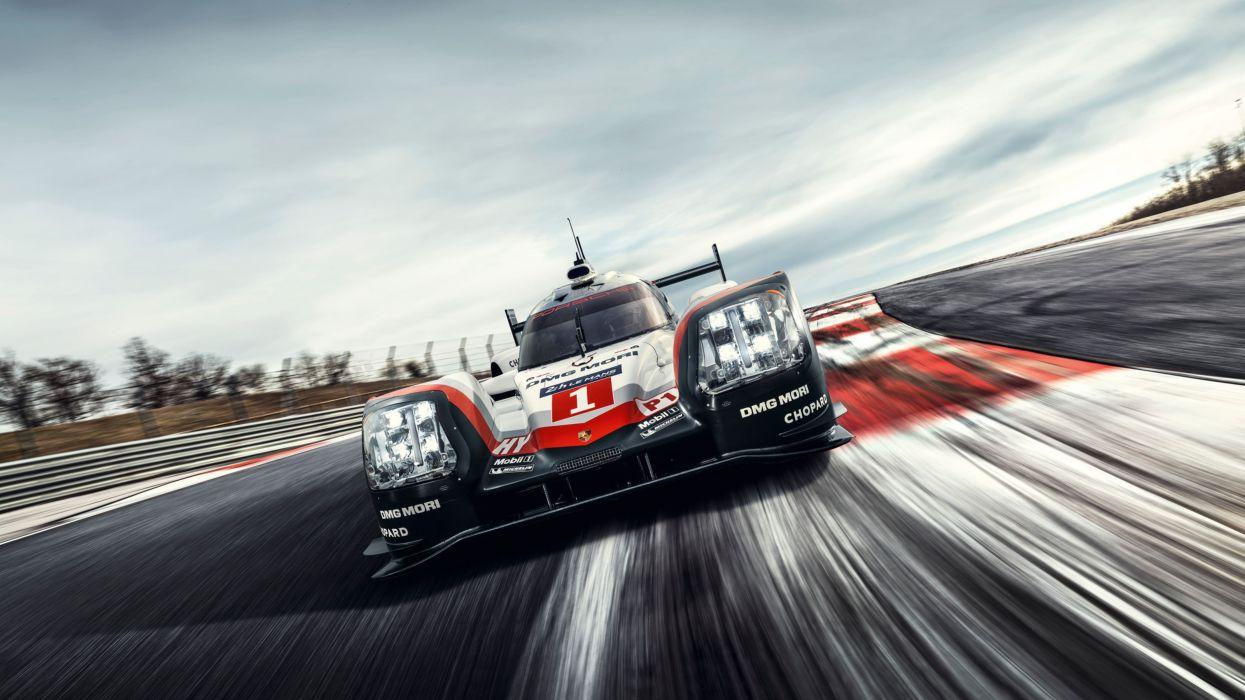 Porsche 919 Hybrid 9R9-17 Race Car 2017 wallpaper