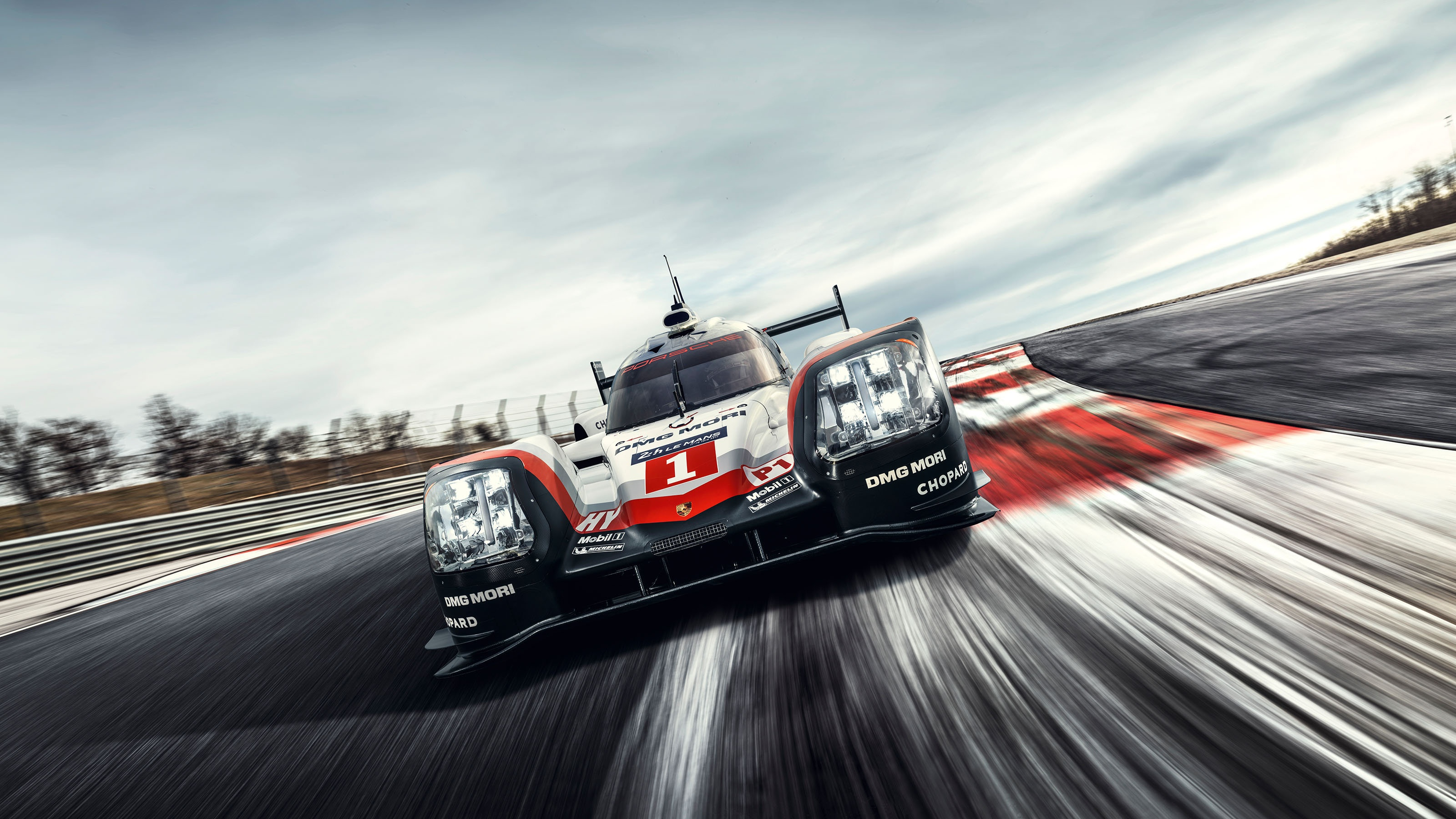 Porsche 919 Hybrid 9R9 17 Race Car 2017 Wallpaper