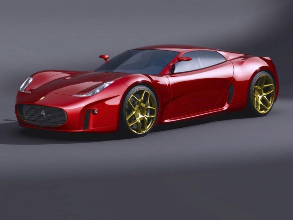 ferrari concepto rojo coche italia wallpaper