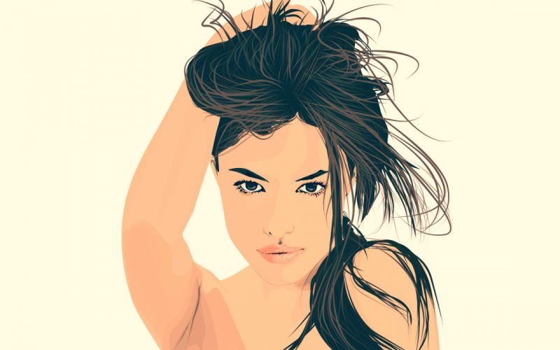 Arts sweet-girl-tawitwit wallpaper