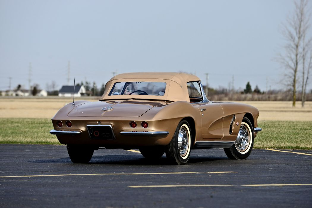 1962 Chevrolet Corvette Styling Car Muscle Classic Old Original USA 03 wallpaper