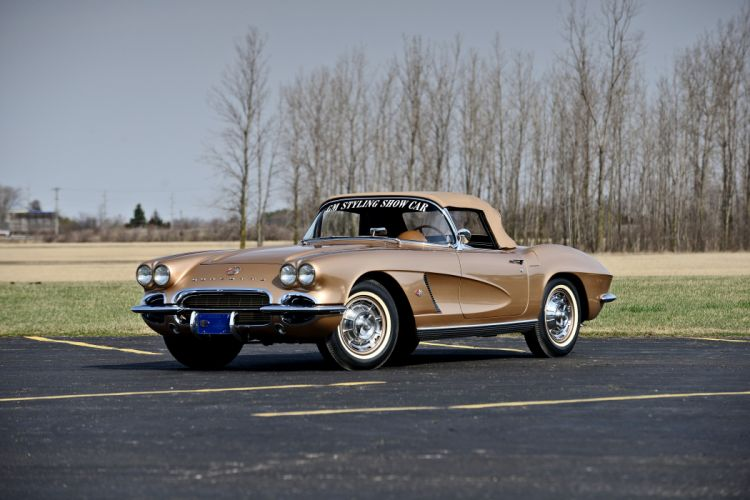 1962 Chevrolet Corvette Styling Car Muscle Classic Old Original USA 01 wallpaper