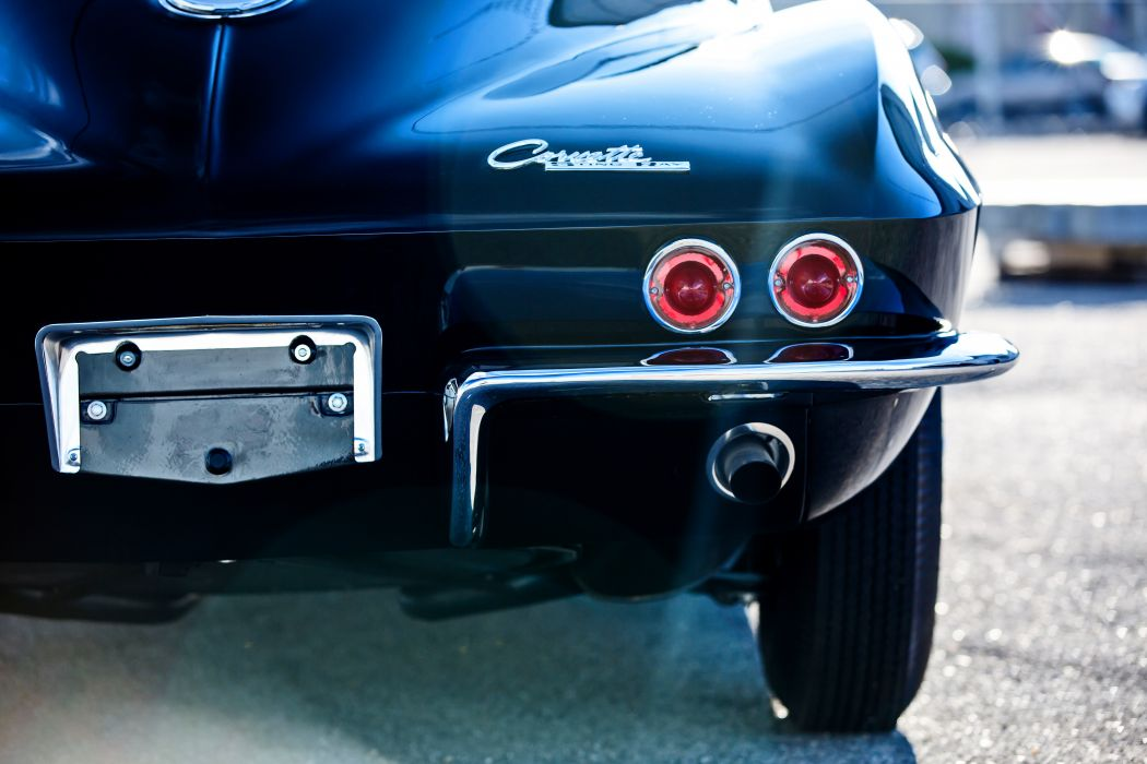 1963 Chevrolet Corvette Stingray Z06 Muscle Old Classic Original USA -08 wallpaper