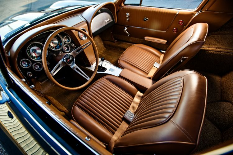 1963 Chevrolet Corvette Stingray Z06 Muscle Old Classic Original USA -04 wallpaper