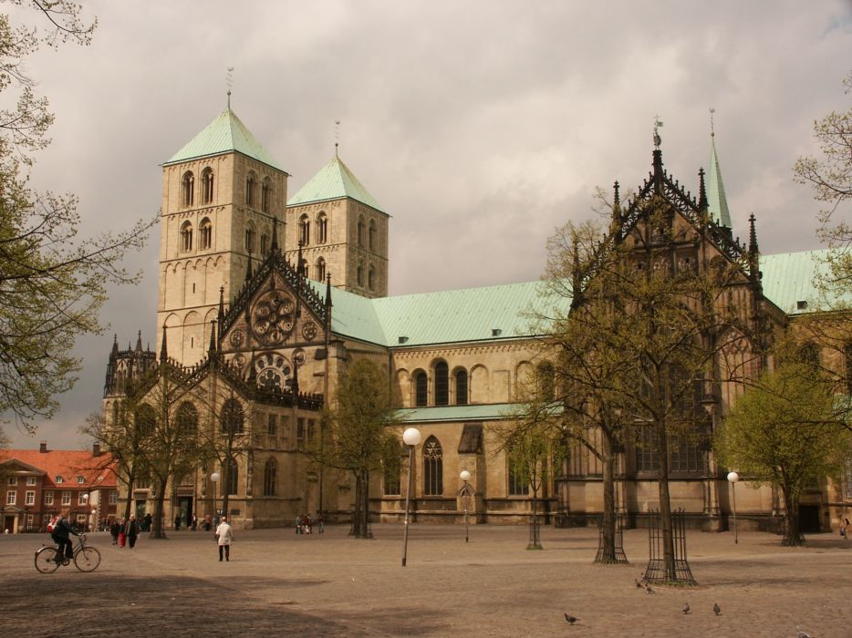 St Paulus Dom - Munster - Germany wallpaper