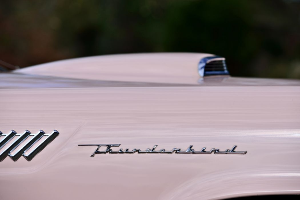 1957 Ford Thunderbird Convertible Muscle Old classic Vintage Original USA -11 wallpaper