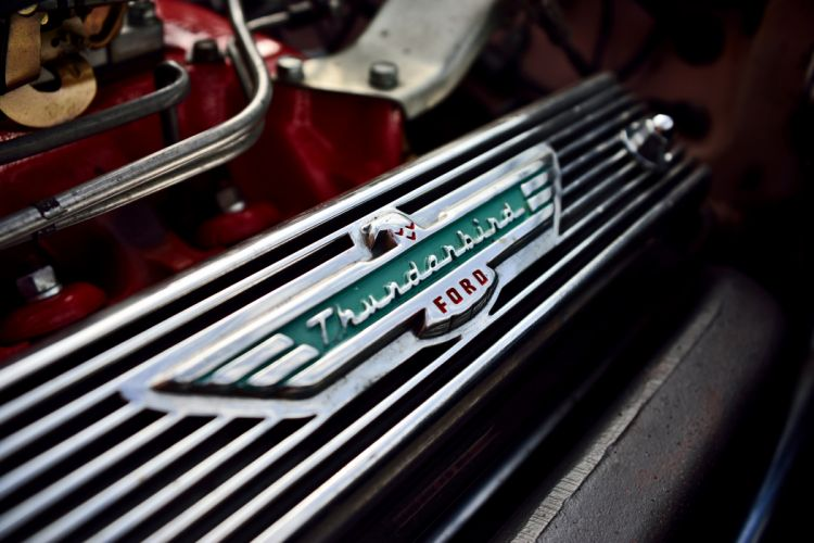 1957 Ford Thunderbird Convertible Muscle Old classic Vintage Original USA -10 wallpaper