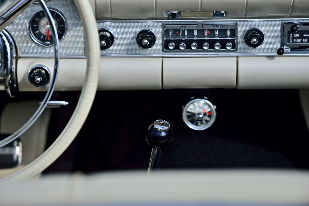 1957 Ford Thunderbird Convertible Muscle Old classic Vintage Original USA -14 wallpaper