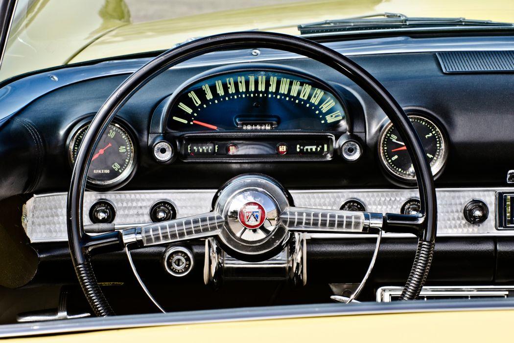 1955 Ford Thunderbird Convertible Classic Old Retro Original USA -10 wallpaper
