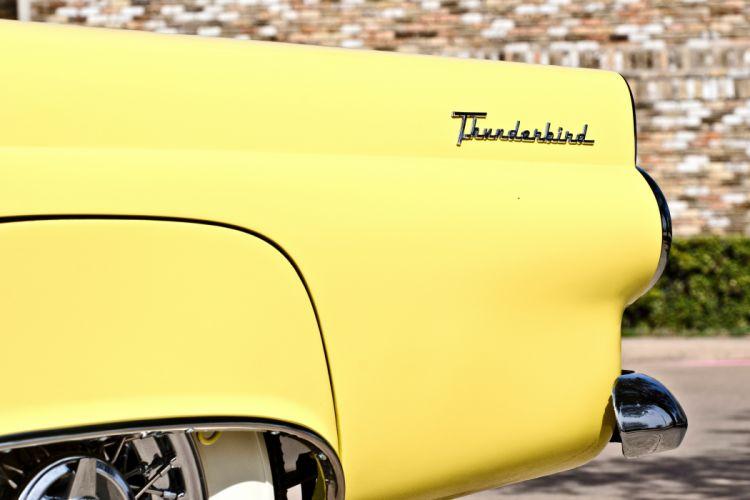 1955 Ford Thunderbird Convertible Classic Old Retro Original USA -23 wallpaper