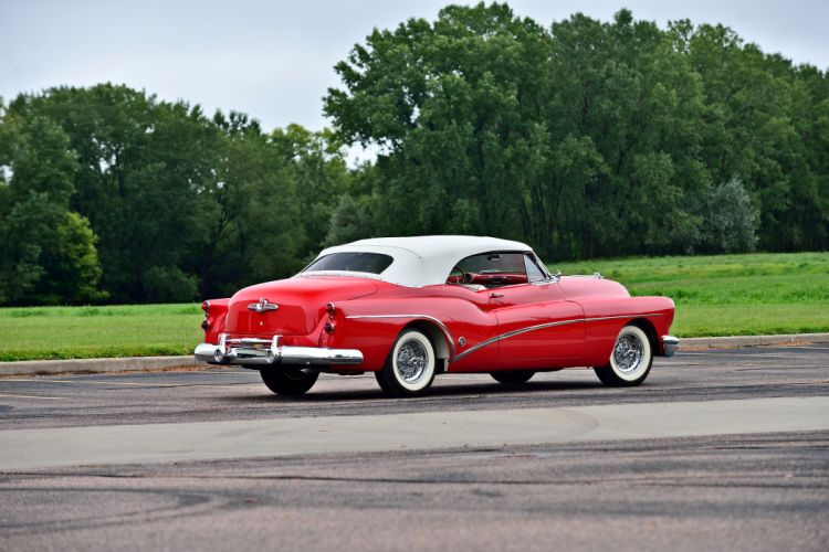 1953 Buick Skylark Convertible Classic Old Vintage Retro Original USA -03 wallpaper