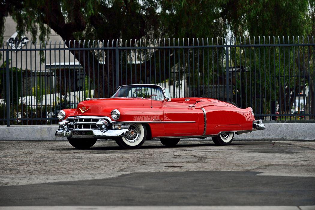 1953 Cadillac Eldorado Convertible Classic Old Vintage Original USA -01 wallpaper