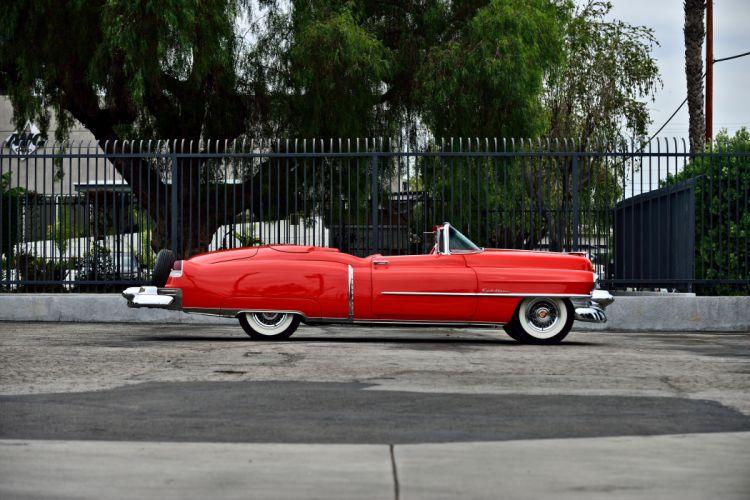 1953 Cadillac Eldorado Convertible Classic Old Vintage Original USA -02 wallpaper