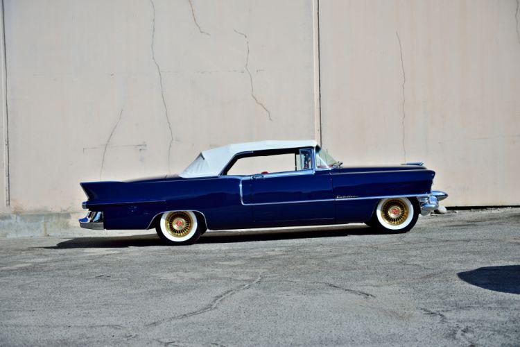 1955 Cadillac Eldorado Convertible Old Vintage Classic Original USA -02 wallpaper