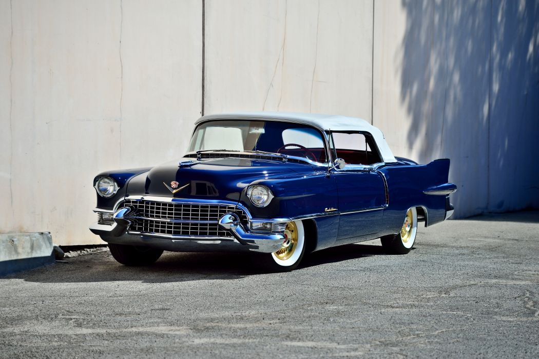 1955 Cadillac Eldorado Convertible Old Vintage Classic Original USA -01 wallpaper