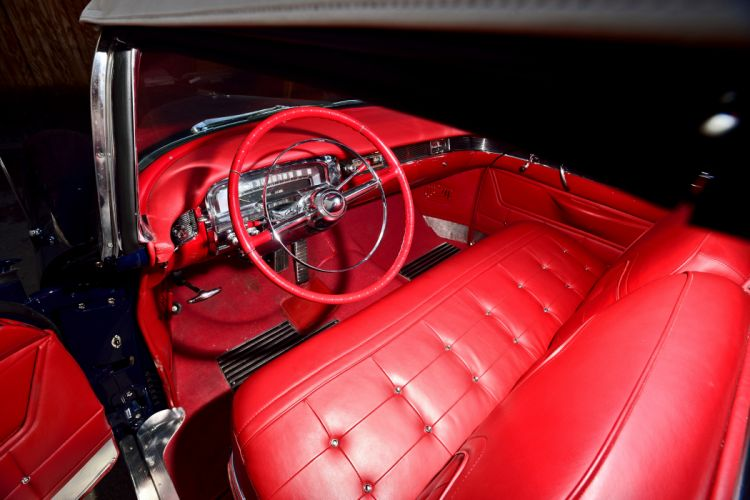 1955 Cadillac Eldorado Convertible Old Vintage Classic Original USA -04 wallpaper