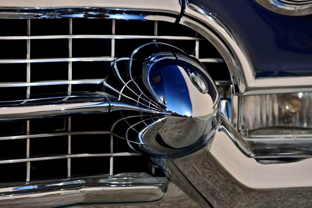 1955 Cadillac Eldorado Convertible Old Vintage Classic Original USA -12 wallpaper