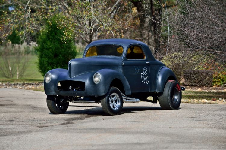 1942 Willys American Gasser Drag Dragster Race Classic Old USA -01 wallpaper
