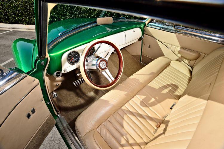 1951 Chevrolet Chevy Bel Air Belair Pro Touring Cruiser Street Rod Rodder Hot Low USA -04 wallpaper