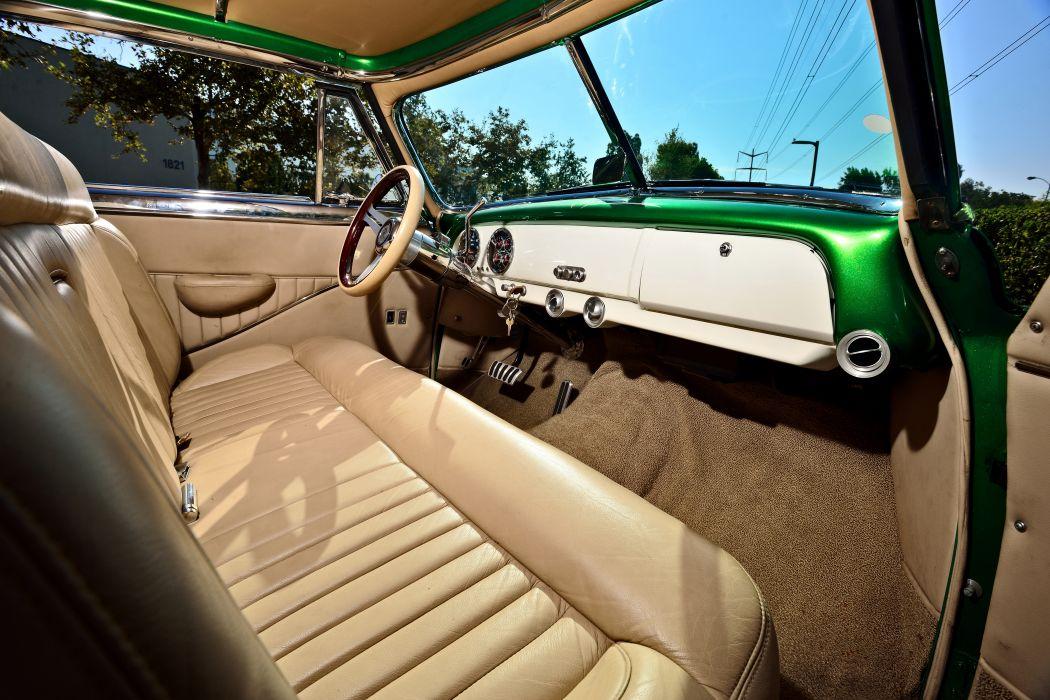 1951 Chevrolet Chevy Bel Air Belair Pro Touring Cruiser Street Rod Rodder Hot Low USA -05 wallpaper