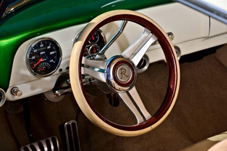 1951 Chevrolet Chevy Bel Air Belair Pro Touring Cruiser Street Rod Rodder Hot Low USA -09 wallpaper