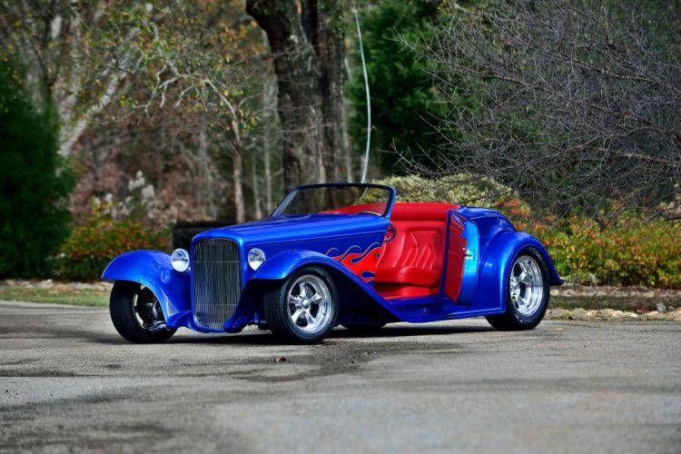 1932 Ford Roadster II Street Rod Rodder Streetrod Hot USA -10 wallpaper