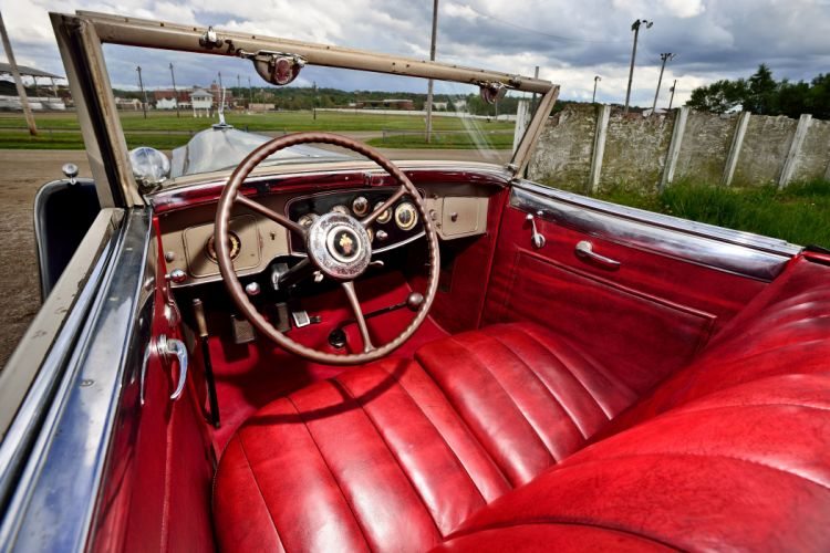 1932 Packard Twin Six Roadster Coupe Old Classic Vintage Original USA -04 wallpaper