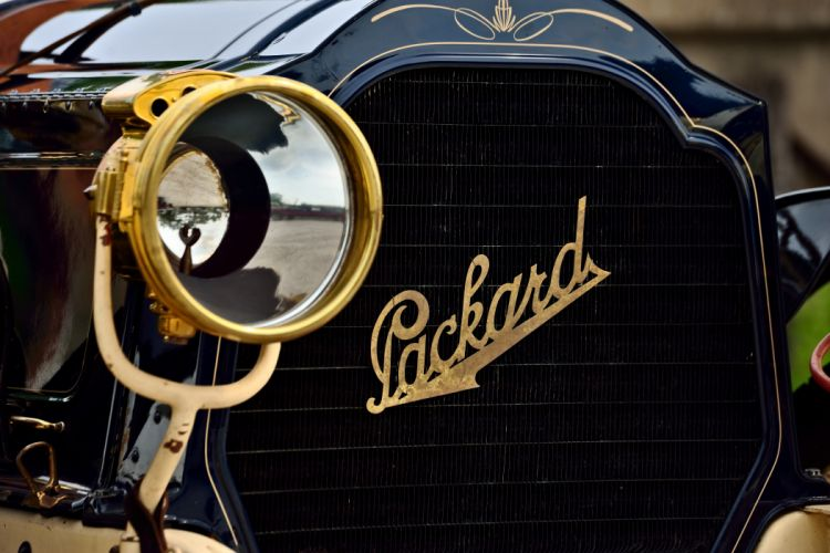 1906 Packard Model-S Touring Old Classic Retro Vintage Original USA -10 wallpaper