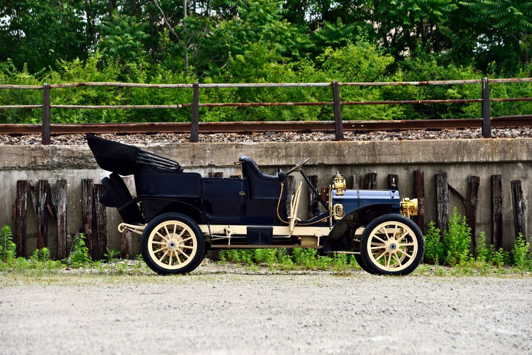 1906 Packard Model-S Touring Old Classic Retro Vintage Original USA -08 wallpaper