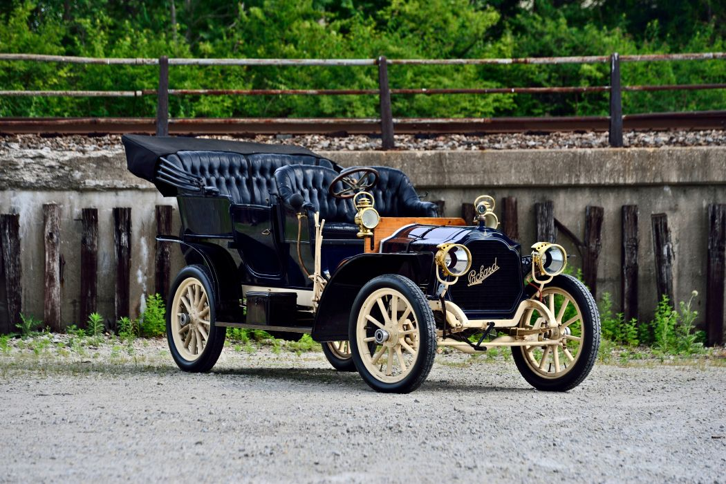 1906 Packard Model-S Touring Old Classic Retro Vintage Original USA -12 wallpaper