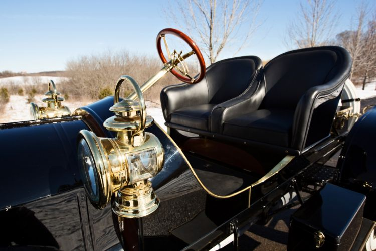 1907 Stoddard-Dayton Model-K Runabout Old Classic Vintage Retro Original -04 wallpaper