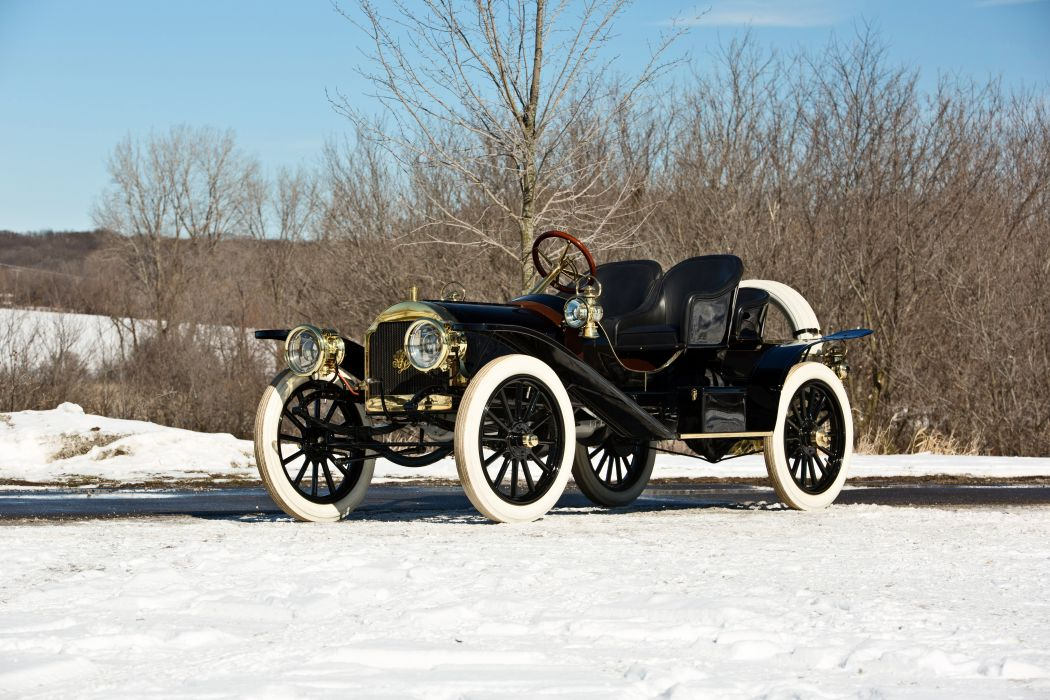 1907 Stoddard-Dayton Model-K Runabout Old Classic Vintage Retro Original -13 wallpaper