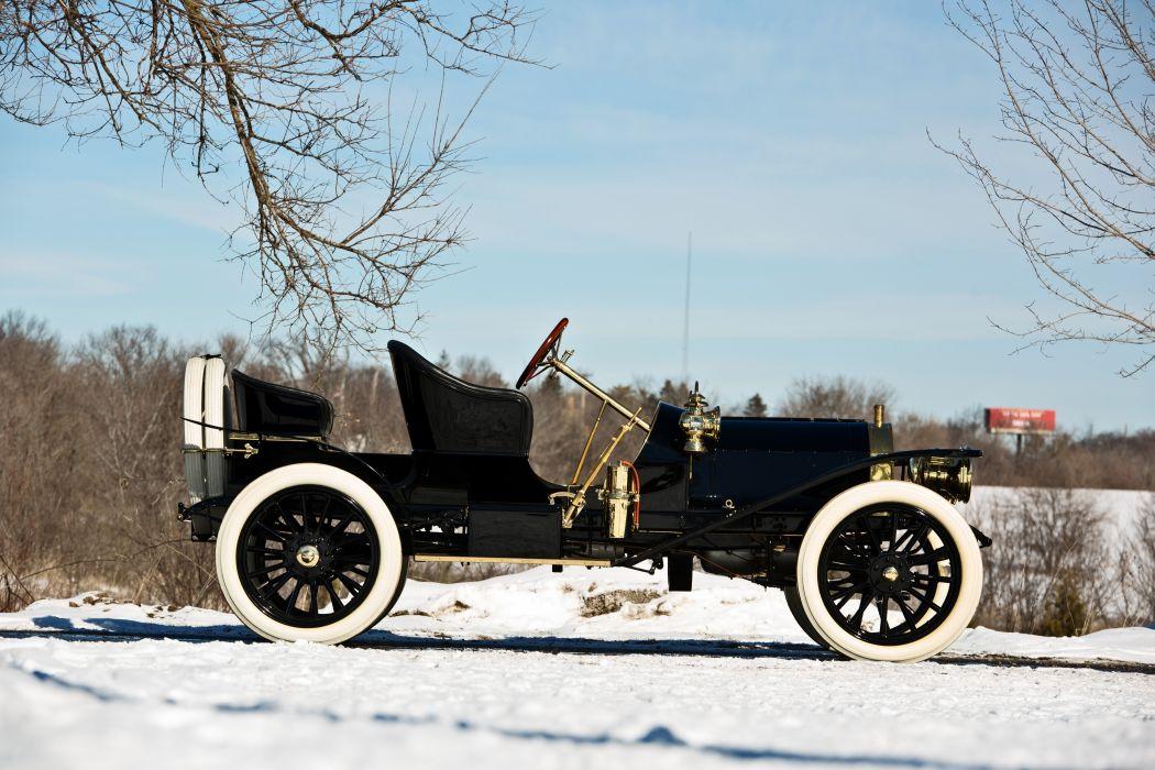 1907 Stoddard-Dayton Model-K Runabout Old Classic Vintage Retro Original -16 wallpaper