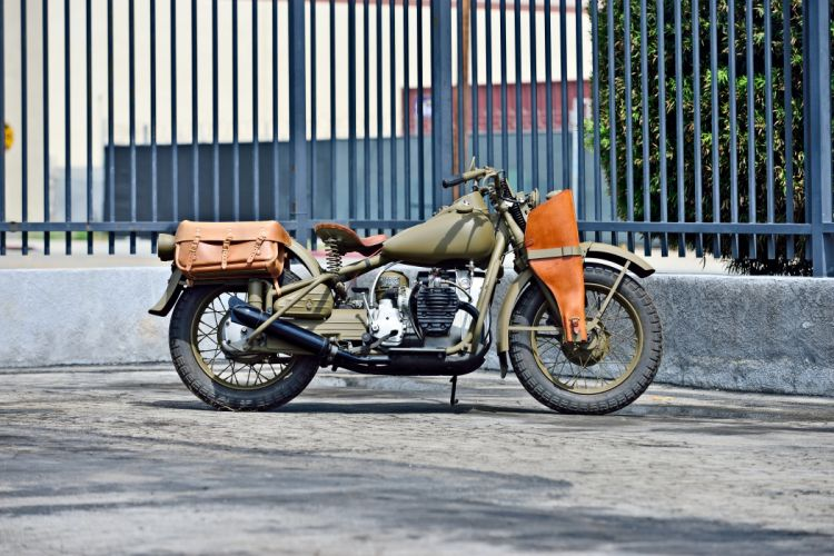 1942 Harley Davidson XA Type-1 Military Motorcycle Old Vintage Retro Original USA -02 wallpaper