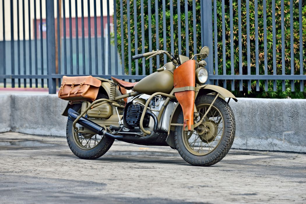 1942 Harley Davidson XA Type-1 Military Motorcycle Old Vintage Retro Original USA -04 wallpaper
