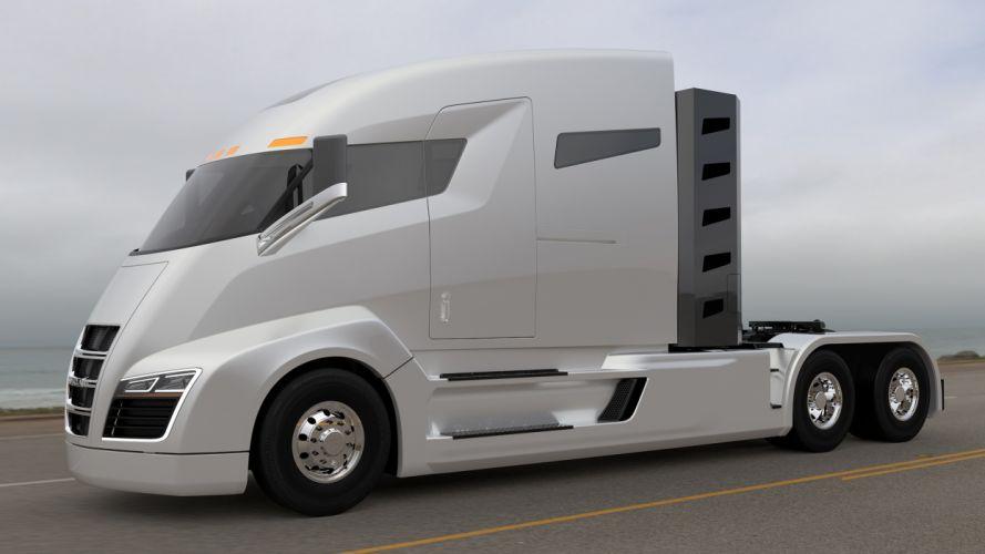 camion cabeza tractora concepto wallpaper