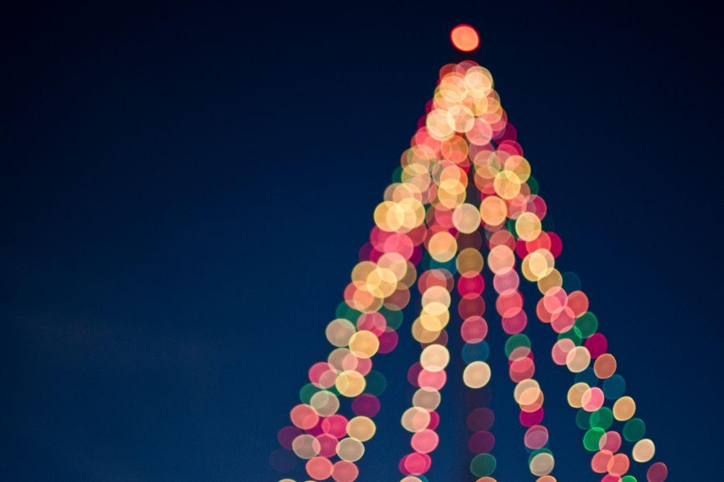 art blurred blurry bokeh bright christmas christmas decoration christmas decorations christmas lights christmas tree colorful colourful design lights merry christmas wallpaper