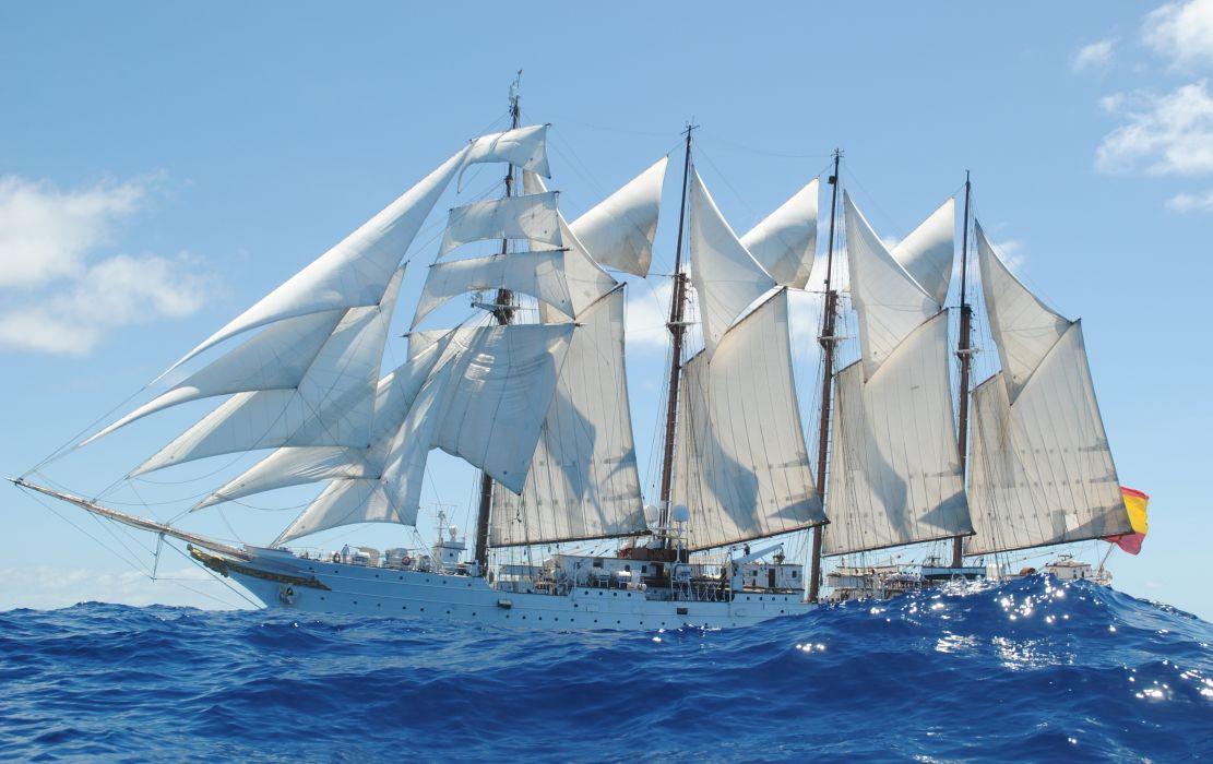juan sebastian el cano barco velero armada espay wallpaper