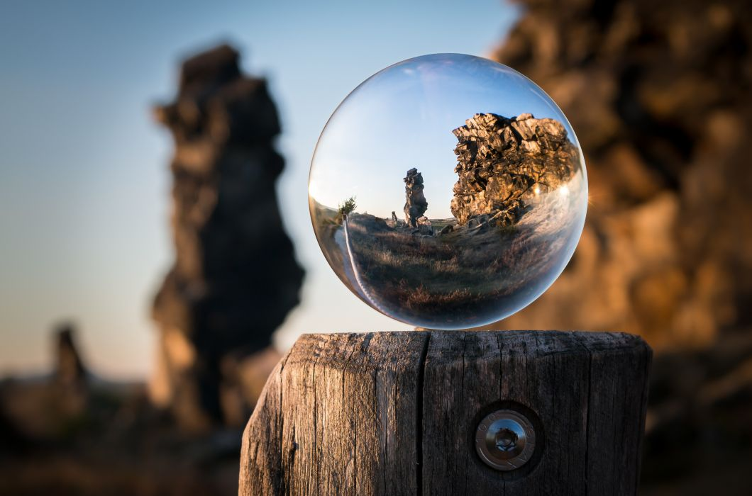 macro outdoors perspective rocky round wallpaper